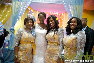 Pictures From Obiwon's Church Wedding & Reception. 40