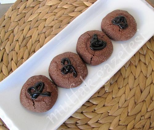 tarçınlı kakaolu kurabiye