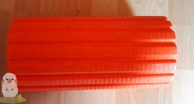 30 cm lange Blackroll Faszienrolle