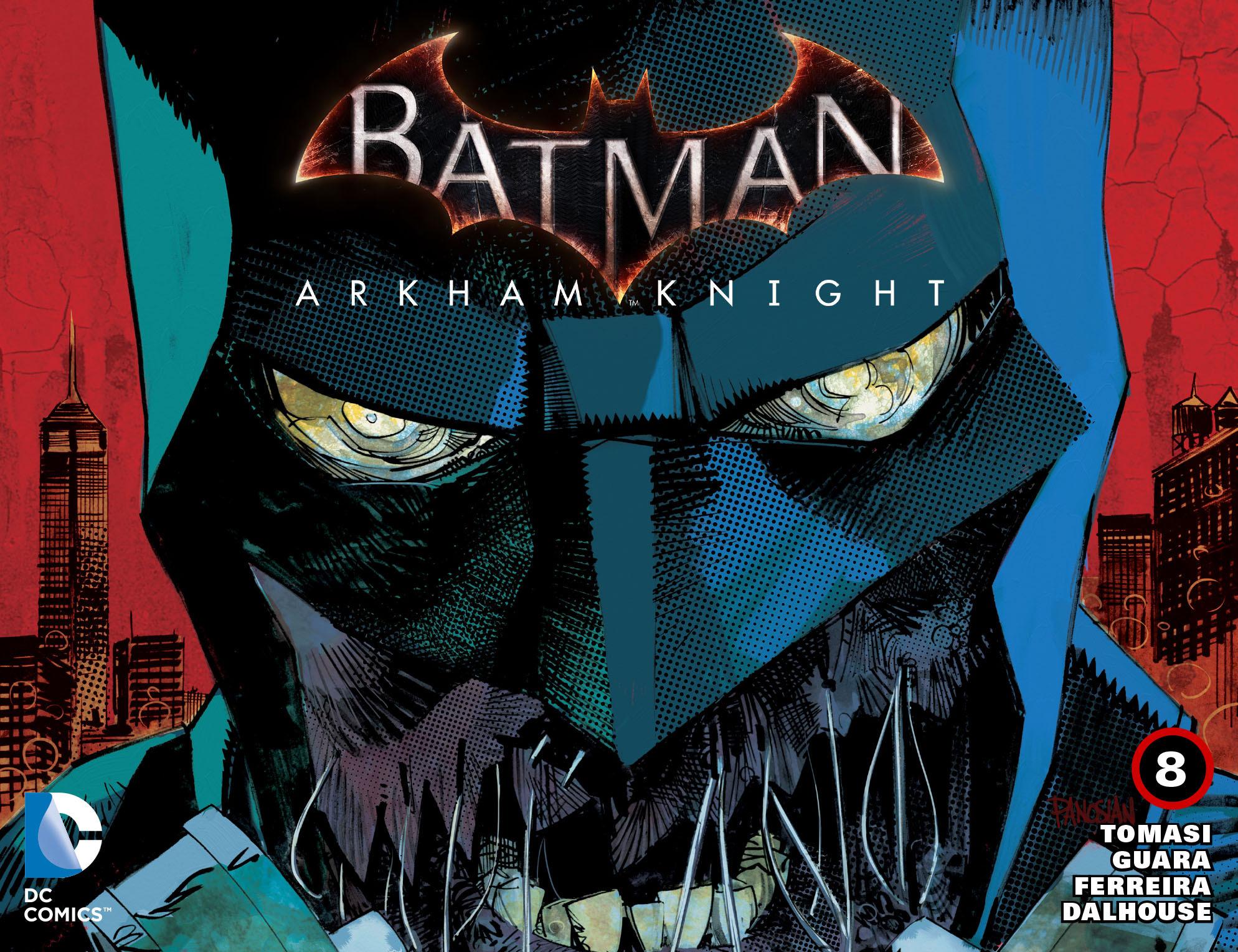 Batman: Arkham Knight [I] 8 Page 1