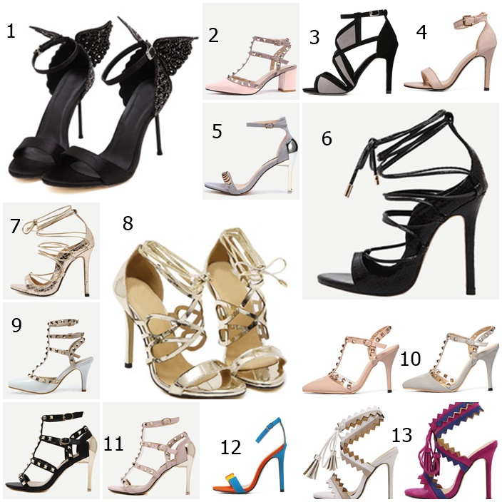 6f4939fe5562d Yağmurun Modası: 100 TL'nin Altında Şık Topuklu Ayakkabılar