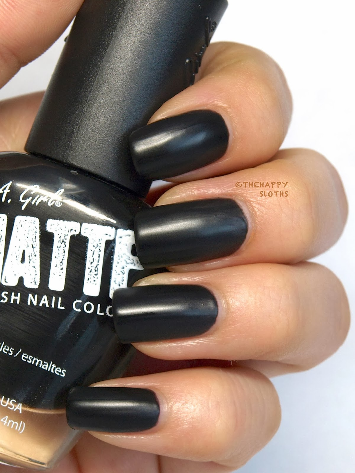 Black Matte Nail Polish | www.imgkid.com - The Image Kid ...