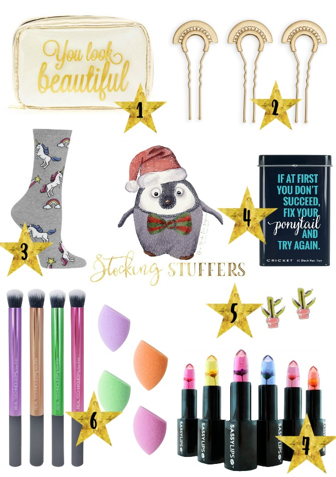 holiday gift ideas for stocking stuffers under 25 dollars