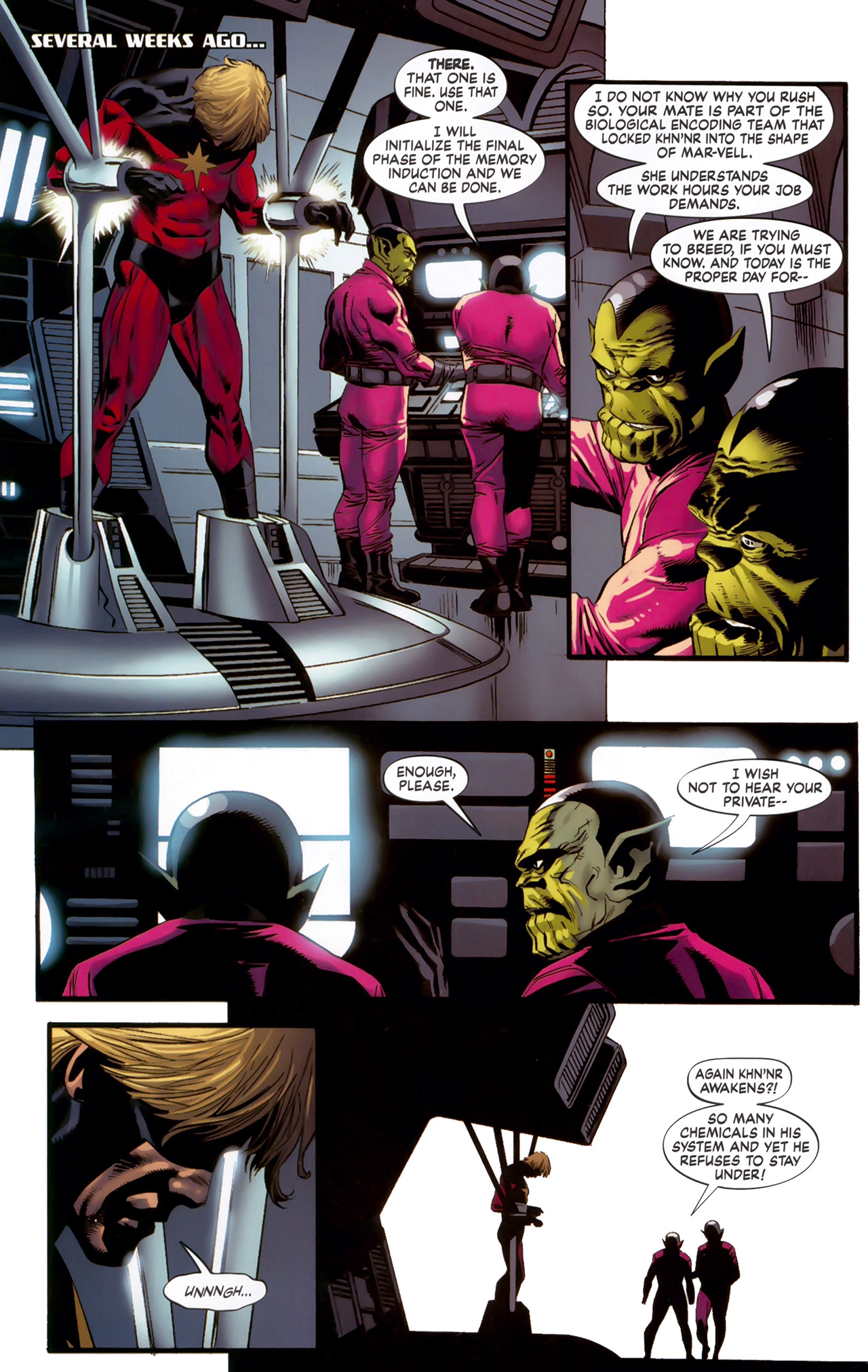 Read online Secret Invasion: The Infiltration comic -  Issue #6 - 8