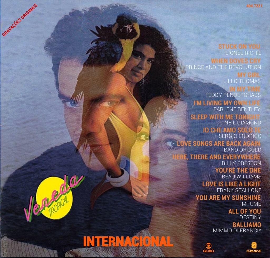cd da novela vereda tropical internacional