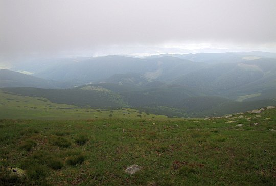 Widok na północ z Kralovej Holi.