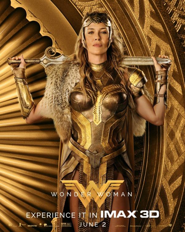Wonder Woman Hippolyta poster
