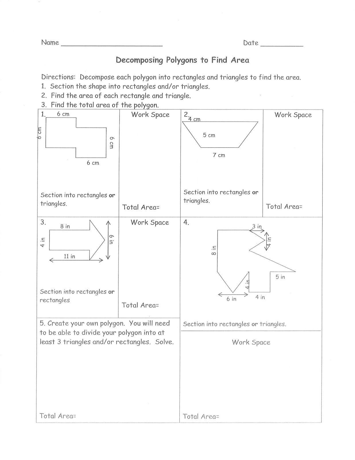 Mrs White S 6th Grade Math Blog Finding The Area Of