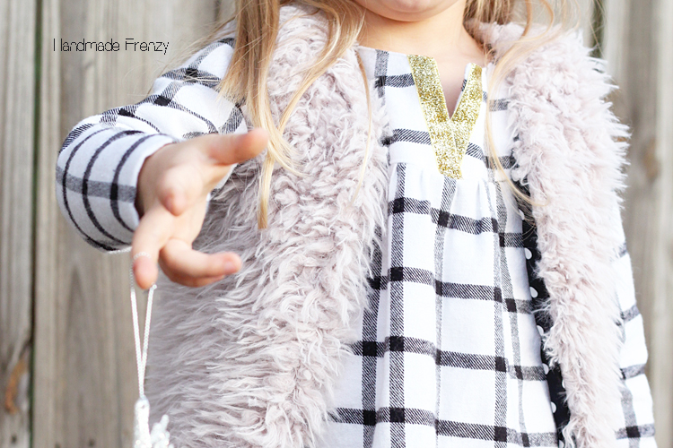 Modkid Dakota & DIY Faux Fur Vest