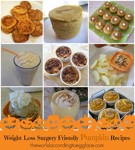 Pumpkin Spice Fall Halloween Desserts Breakfast Bariatric Gastric Bypass VSG Cooking Food Blog