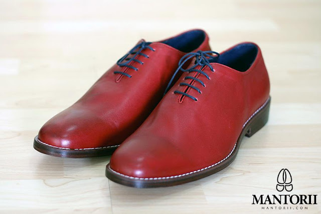 Chili Red Mantorii Custom Shoes