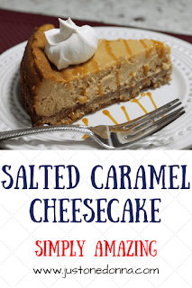 Salted Caramel Cheesecake Recipe