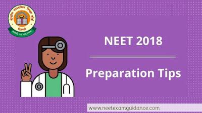neet exam prepartion tips 2018