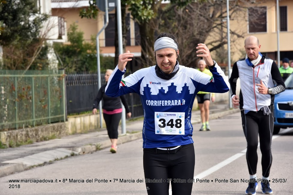 fc5b7686126cf La 30 km della Marcia del Ponte ha visto al via anche due atleti di  Corriferrara  Mirko Tebaldi