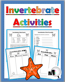 https://www.teacherspayteachers.com/Product/Invertebrate-Animal-Activities-Animal-Classification-Free-190655