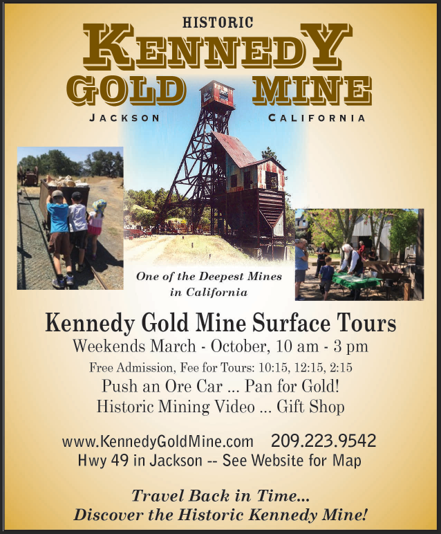 Events at the Kennedy Mine!