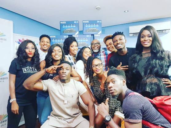 Big Brother Naija 2017 housemates meet up at DSTV office (Photo)