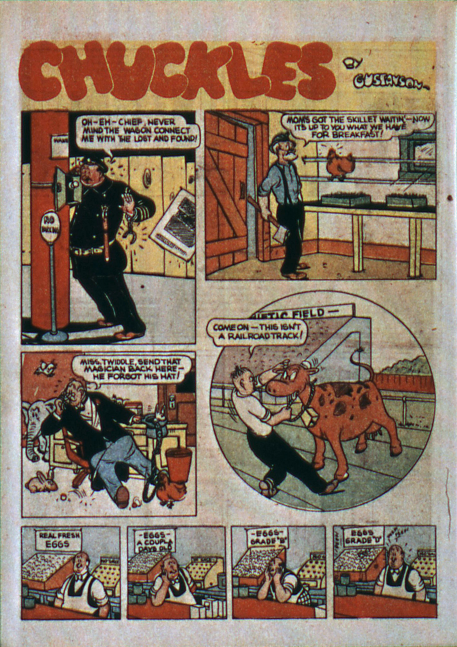 Read online Action Comics (1938) comic -  Issue #6 - 46