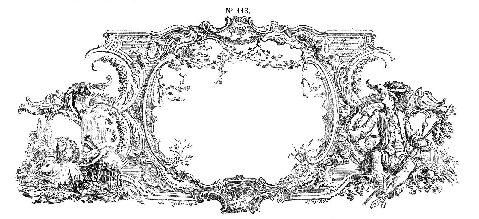 frames o bordes, marcos bordes para hacer carteles, frames blanco y negro