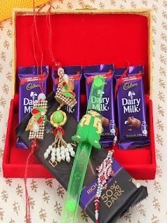Flower Aura Offer Buy Rakhi Gift hamper at Rs. 799