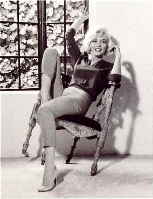 Marilyn Monroe thuis