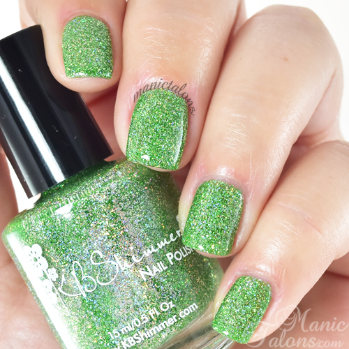 KBShimmer Smells Like Green Spirit Swatch