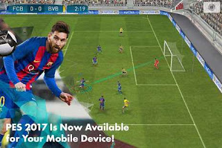 PES 2017 Mod Unlimited Money Apk