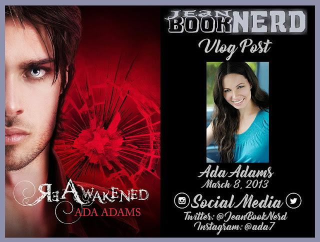 Vlog Post With Ada Adams Jean Booknerd