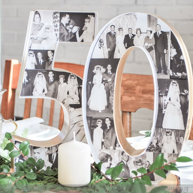 Heidi Swapp Celebrates a 50th Anniversary with Marquee Love by Jamie Pate  | @jamiepate for @heidiswapp