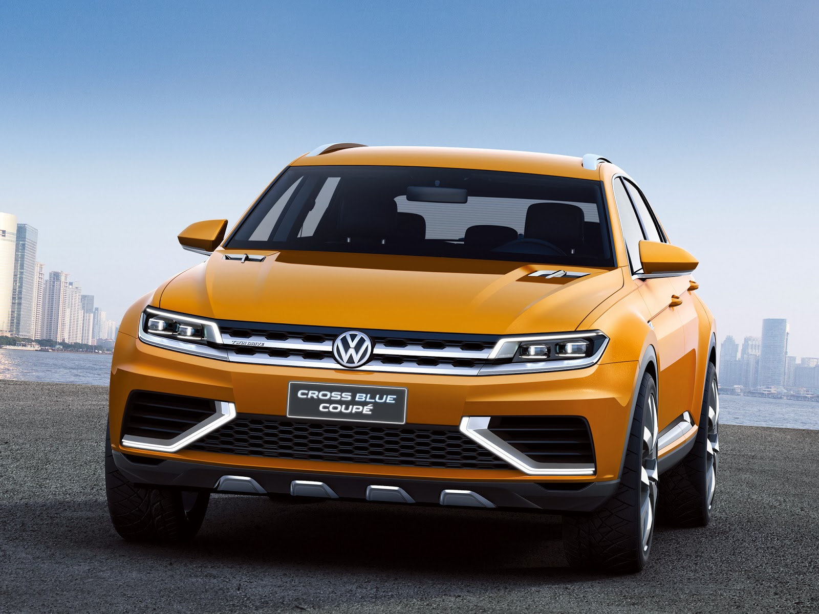 2016 volkswagen crossblue coupe ready to launch mycarzilla. Black Bedroom Furniture Sets. Home Design Ideas