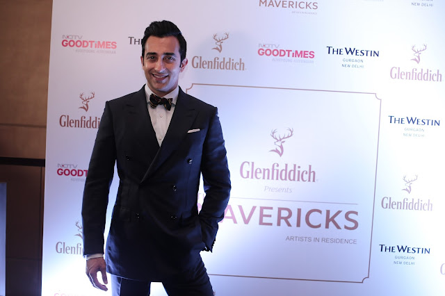 Rahul Khanna at the Glenfiddich and NDTV Good Times launch 'The MAVERICKS' short series Show-min