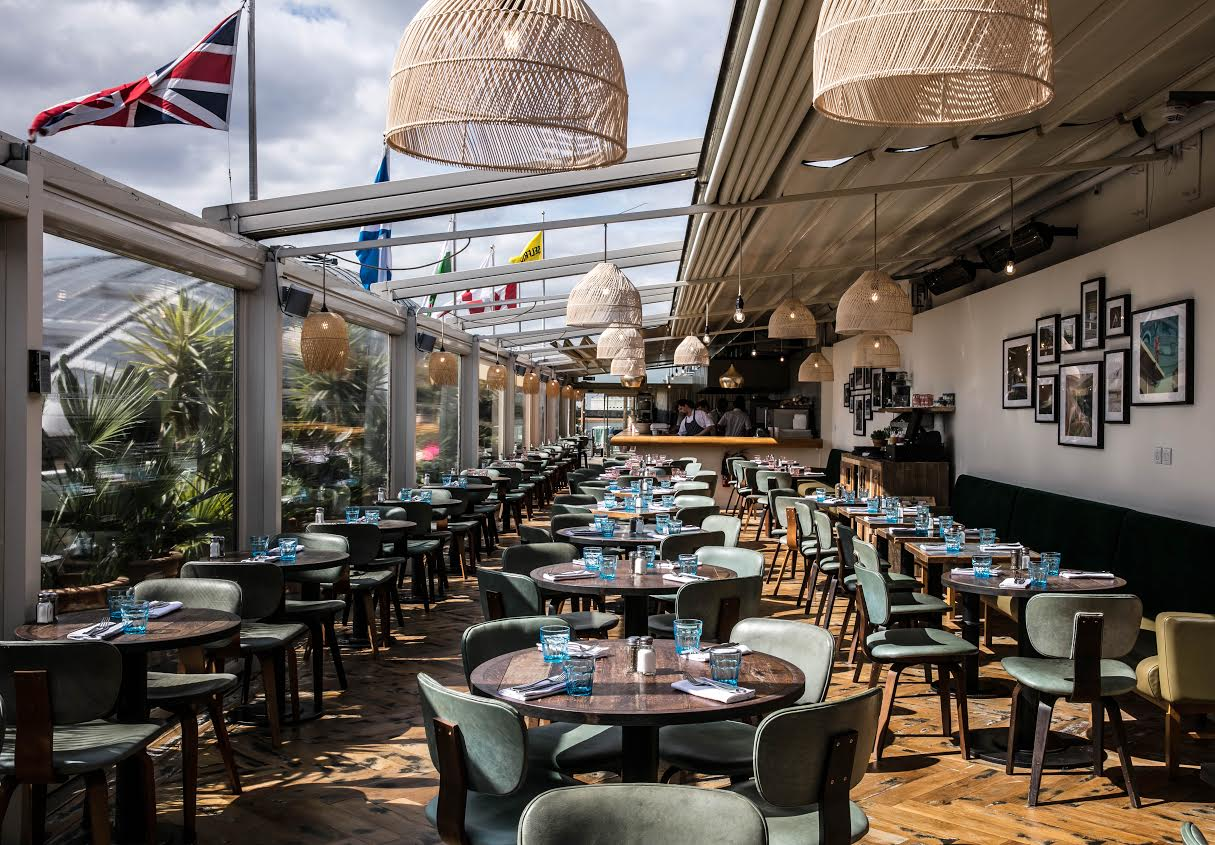 london pop-ups: 'the roof deck' summer rooftop restaurant for 2017