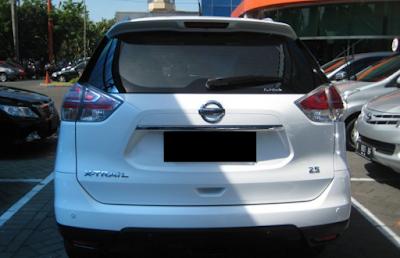 Eksterior Belakang All New Nissan X-trail