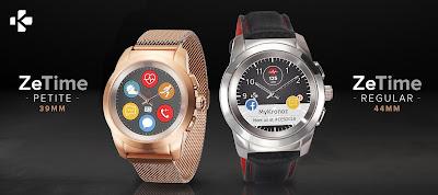 Nuovo smartwatch ibrido MyKronoz: dettagli funzionalità