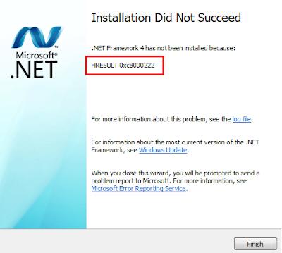 Sửa Lỗi Không Cài Đặt Được Microsoft .NET Framework - Top5Free