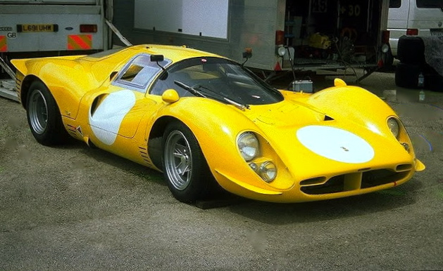 Used Ferraris For Sale >> Pilotes Anciens: Fly Yellow