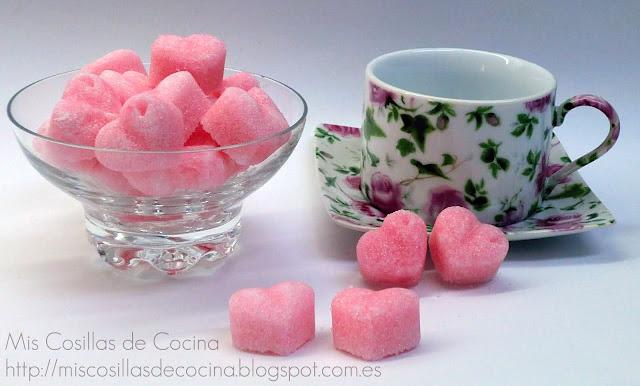 como hacer azucarillos de colores caseros