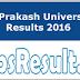 Jai Prakash University Results 2016 UG/PG Degree Mark Sheet