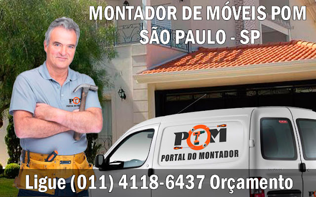 Montagem de Móveis São Paulo SP (011) 4118-6437