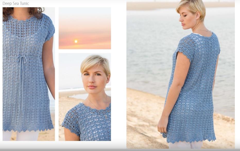 Deep Sea Crochet Tunic Pattern