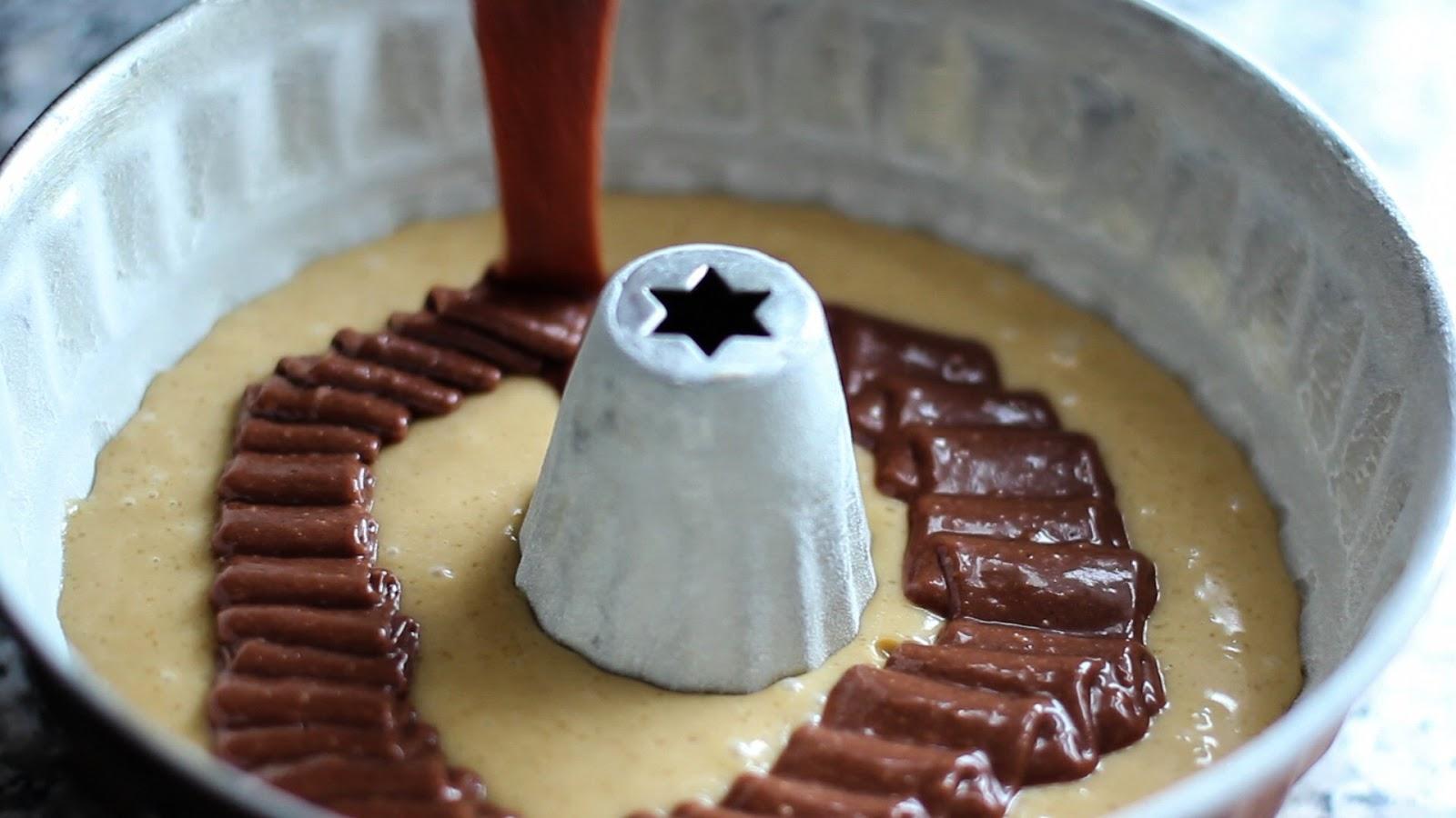 bake your slovak roots  slovensk korene Marbled Bbovka