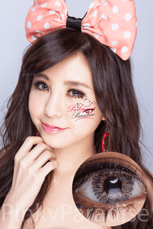 G&G Shimmer Grey Circle Lenses (Colored Contacts)