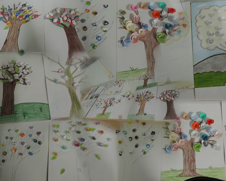 Col gio e pe colbachini alunos e professores constroem for Mural dos sonhos o segredo