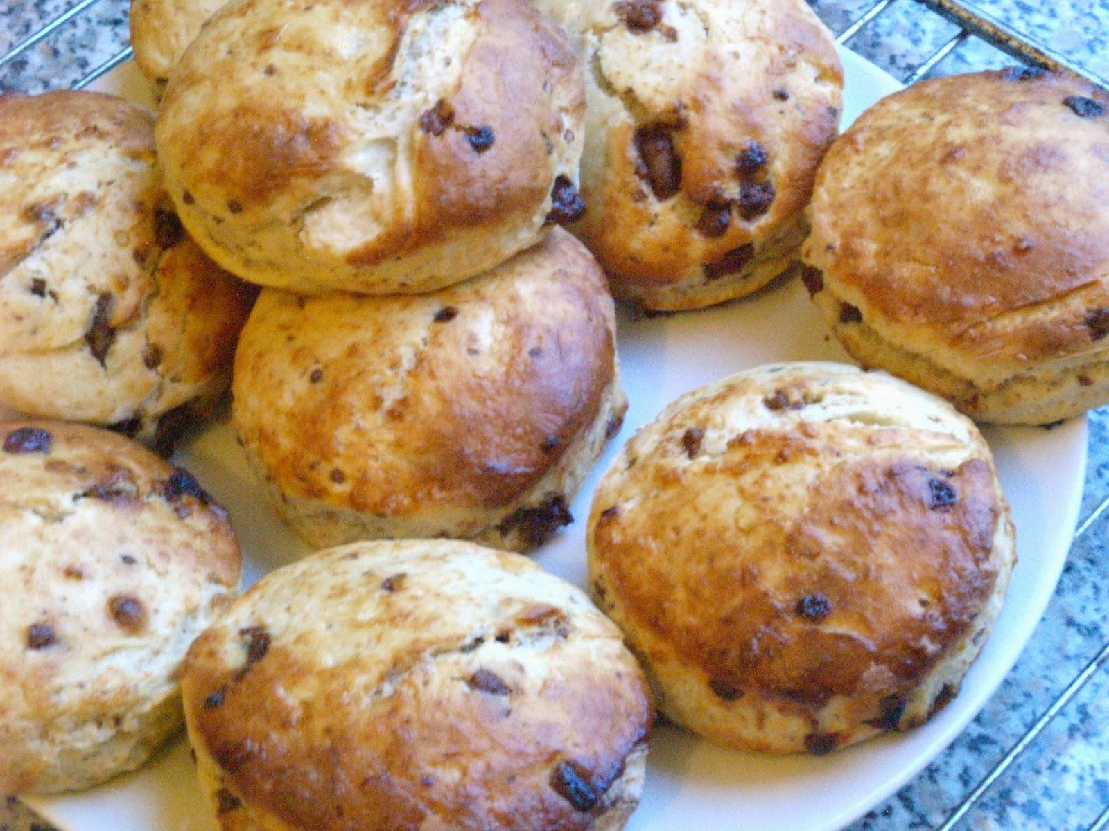 MTOTFLS: Opskrift: Chokolade scones