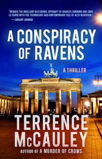 https://www.amazon.com/Conspiracy-Ravens-James-Hicks/dp/1943818711/ref=sr_1_5?s=books&ie=UTF8&qid=1501100303&sr=1-5&keywords=a+conspiracy+of+ravens