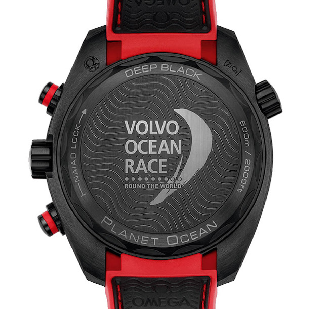 "Omega Seamaster Planet Ocean Deep Black ""Volvo Ocean Race"" Limited Edition"