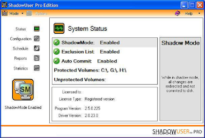 SHADOWUSER PRO EDITION + SERIAL