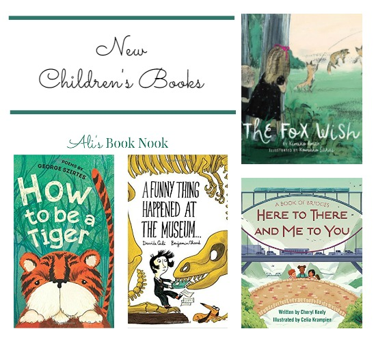 New Favorite Children's Picture Books mid March