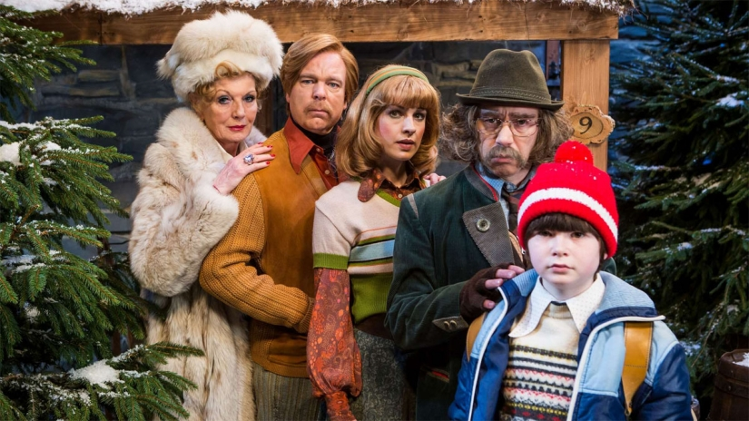 Steve Pemberton y Reece Shearsmith protagonizan Inside No 9 The Devil Of Christmas