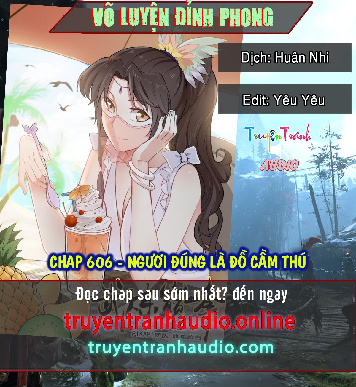 Võ Luyện Đỉnh Phong chap 606 - Trang 1